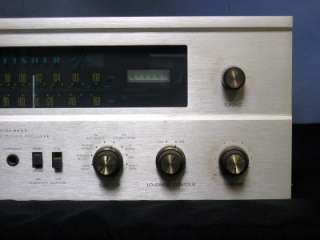 Vintage FISHER 800C Tube Stereo Receiver w/ Specs & Schematic Manuals