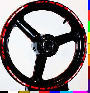 RIM STRIPE WHEEL DECAL TAPE STICKER YZF R1 R6 R6S 600R