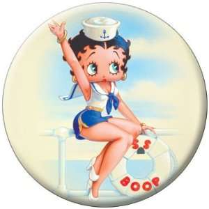 Betty Boop Sailor Button 81546 [Toy] Toys & Games