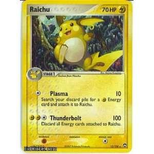 Raichu (Pokemon   EX Power Keepers   Raichu #012 Mint