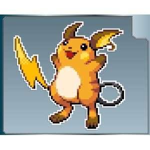 RAICHU Sprite from Pokemon vinyl decal sticker 6