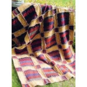 PT2374 Raggy Rails Rag Quilt Pattern by GE Designs: Arts