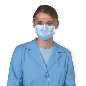 KEYSTONE FM EL BLUE Face Mask,Surgical,White,Pk 50