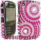 Blackberry 8520 Curve 9300 3G Diamond Case Cover Bling Diamante Gem
