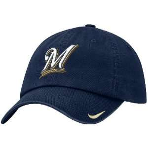 Milwaukee Brewers Unstructured Adjustable Stadium Baseball Cap By Nike