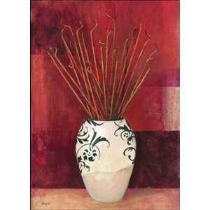 Jarrones Con Flores Secas I   Poster (13.75X19.75):  Home