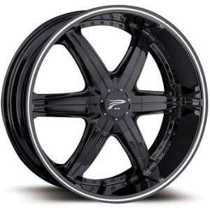 Platinum Flair 20x9 Black Wheel / Rim 6x135 & 6x5.5 with a 30mm Offset