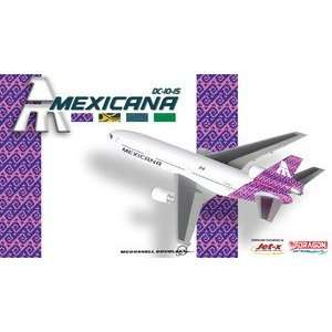 Dragon Wings Jet X Mexicana DC 10 15 1:400 Purple JX035