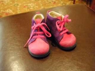 Elefanten Infant Girls Sz.19 4US Leather Shoes