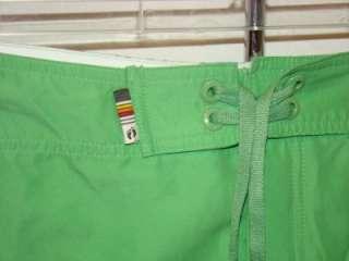 VTG HANG TEN TRUNK BOARD Shorts Mens 36 VELCRO FLY SWIM