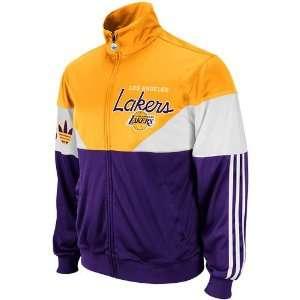 adidas Los Angeles Lakers Jam Full Zip Track Jacket