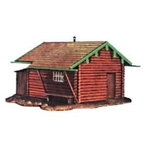 Model Power   Fishermans Cabin Kit HO (Trains): Toys