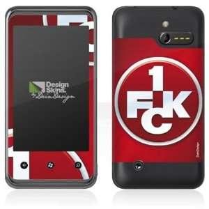 Design Skins for HTC 7 Pro   1. FCK Logo Design Folie