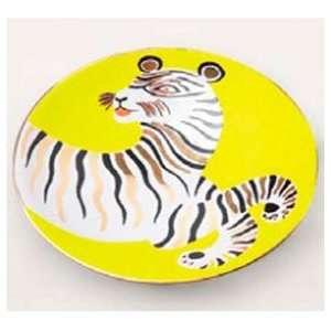 Waylande Gregory Tiger Yellow/Gold Small Bullet Bowl (4.5
