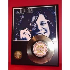 Janis Joplin 24kt Gold Record LTD Edition Display ***FREE
