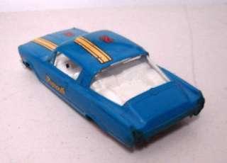 Vintage 1964 1/32 scale SLOT CAR PLYMOUTH BARRACUDA Blue ATLAS