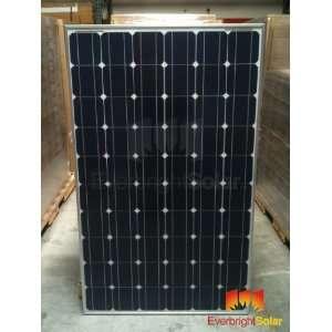 10 Sharp 240w Mono Solar Panels with 60 Cells, B grade, UL