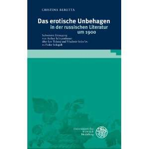 Philologie) (German Edition) (9783825359270): Cristina Beretta: Books