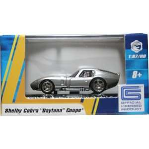 1:87 / HO SCALE SHELBY COBRA DAYTONA COUPE (SILVER) Hot