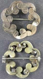 1880's Vintage Pin 14K Solid Gold~Fancy Rose Gold PS Co