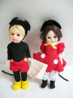 MADAME ALEXANDER MICKEY MOUSE & MINNIE MOUSE SET 31641 |