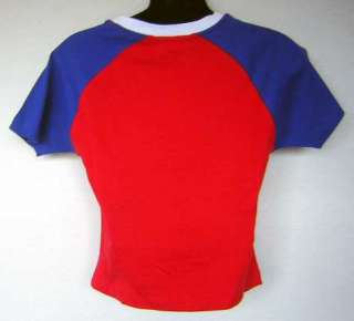 Puerto Rico Flag Red White Blue Soccer Jersey T Shirt