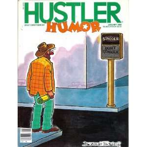 HUSTLER HUMOR JANUARY 1986 1/86: HUSTLER MAGAZINE: Books