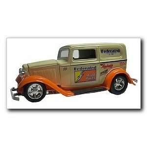 Federated Auto Parts 1932 Ford Panel Street Rod Die Cast Collectible