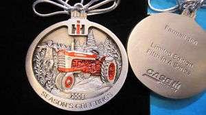 2008 Case IH International Harvester Pewter Ornament #5 in Ltd Ed