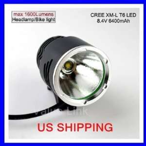 3 switch Mode 1600 CREE XM L T6 LED Light unit LED Bicycle