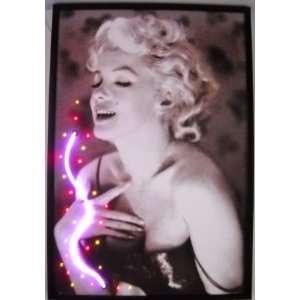 Marilyn Monroe Chanel #5 Neon Picture