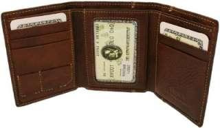 255712 High quality leather trifold wallet RUDI Men