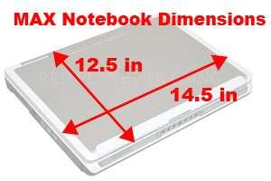 New Dell 15.4 Black Neoprene Laptop Sleeve Case GN959