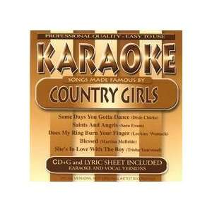 Karaoke Songs Made Famous By Country Girls Various Artists Music