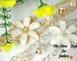 Women Fashion Sweet Flower Waist Chain Bling Bling New