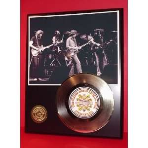 Grateful Dead 24kt Gold Record LTD Edition Display ***FREE