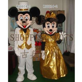 MICKEY MOUSE Mascot Costume Fancy Dress MINNIE R00014 adult one size