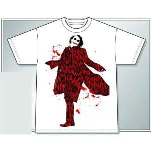 (Heath Ledger) Covered in Laughter T Shirt XX Large Toys & Games