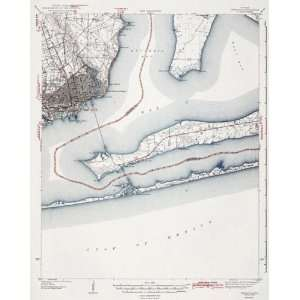 USGS TOPO MAP PENSACOLA QUAD FLORIDA (FL/WAR) 1942 Home