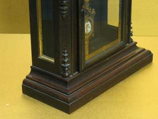 BEAUTlFUL ANTIQUE c.1884 ORIGINAL E. N. WELCH LUCCA V.P. SHELF MANTEL