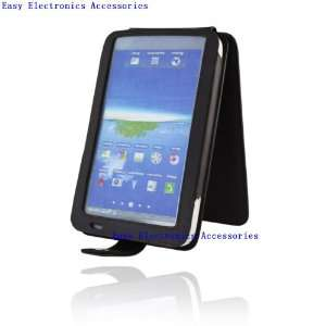 Samsung Galaxy Tab leather Case/cover black, flip over by