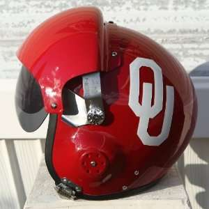 Oklahoma Sooners Fighter Pilot Helmet NCAA Football USAF F