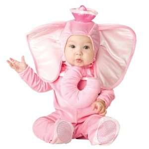 In Character Costumes 196441 Pink Elephant Infant Toddler