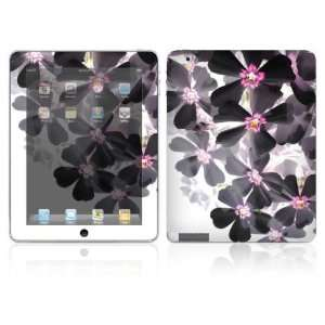 Asian Flower Paint Design Skin Decal Sticker for Apple iPad 2 Tablet E