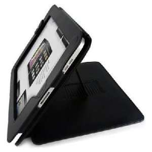 Black Leather Case Flip Cover Pouch for Apple IPAD New Electronics