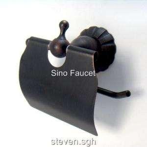 Oil Rubbed Bronze Finish Toilet Paper Roll Holder Box