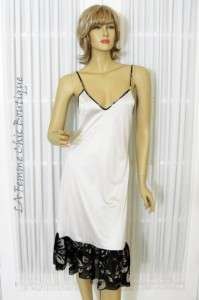 FUZZI Jean Paul Gaultier Size L Black Ivory Silver Stretch Mesh Dress