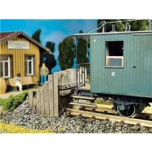 TRACK BUFFER   POLA G SCALE MODEL TRAIN BUILDING KIT 1882