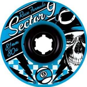 Sector 9 Race 80a 81mm Blue Skate Wheels Sports