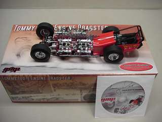 IVO TOMMY 4 BUICK ENGINE DRAGSTER 1/18 GMP L@@k & CD
